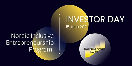 Nordic Inclusive Entrepreneurship Program - Investor Day tickets