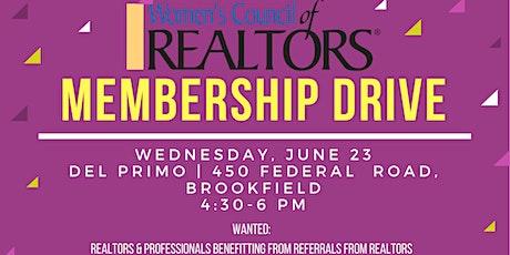 Women's Council of Realtors - Membership Happy Hour tickets