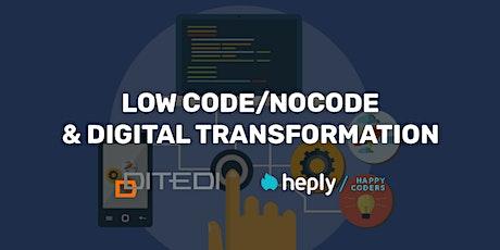 Low Code/No Code: strumenti per tutti biglietti