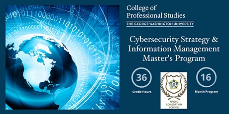 Cybersecurity Strategy & Information Management Info Session (via Webex) tickets