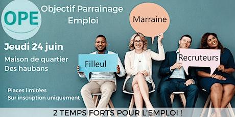 OPE - Objectif Parrainage Emploi à Nantes Maison des Haubans billets