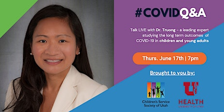 LIVE - Coronavirus Q&A with Dr. Truong tickets