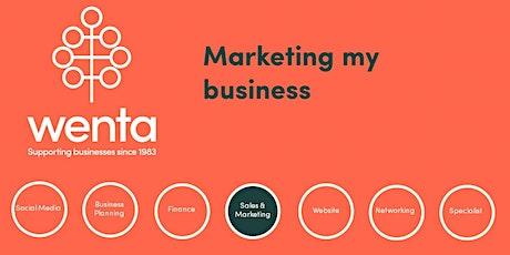 Marketing my business - Stevenage tickets