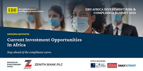 Africa Investment Risk & Compliance Summit 2021 - Opening Keynote tickets