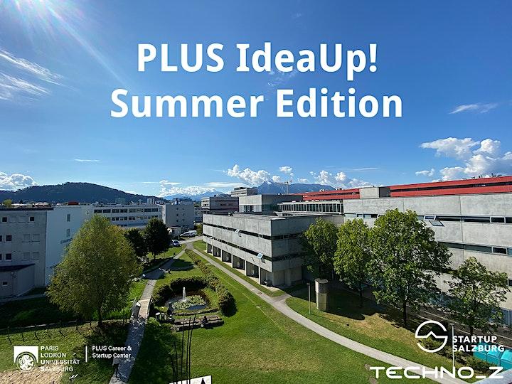 PLUS IdeaUp! Summer Edition: Bild
