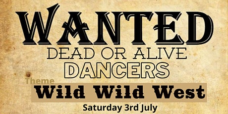 Monthly Dance - Wild West Theme tickets