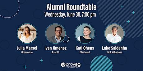 'A Milestone of Growth' — ProVeg Incubator Alumni Roundtable tickets