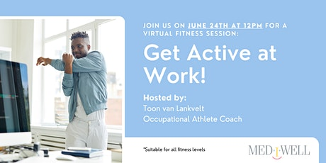 Free Virtual Workout Session: Get Active at Work! tickets