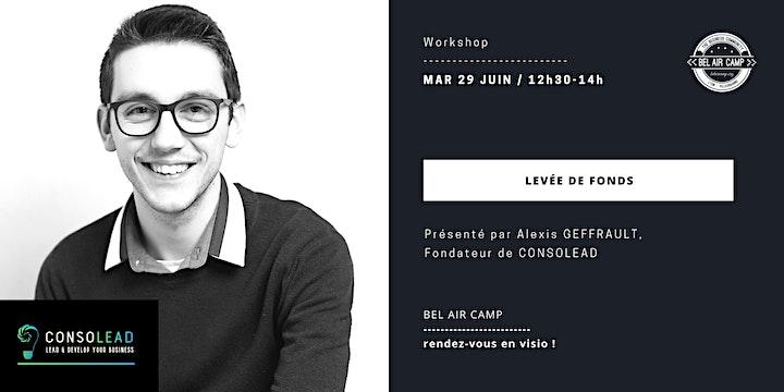 """Image pour Workshop """"Tout savoir sur la levée de fonds"""""""
