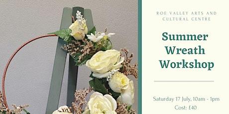 Summer Wreath Workshop tickets