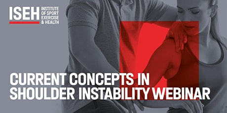 ISEH webinar: Current concepts in shoulder instability tickets