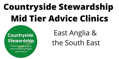 Countryside Stewardship Mid Tier Advice Clinics: Thursday 1st July from 9am tickets