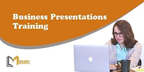 Business Presentations 1 Day Virtual Live Training in Belo Horizonte ingressos