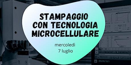 Il processo di stampaggio con tecnologia microcellulare biglietti