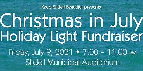Christmas in July Holiday Light Fundraiser tickets