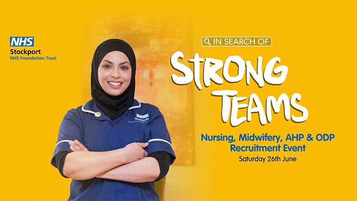 Recruitment Event for Student Nurses, RNs, Midwives, ODPs & AHPs. image
