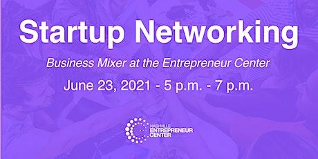 Startup Networking tickets