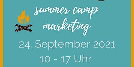 Kaffeetalk - Marathon: summer camp marketing tickets