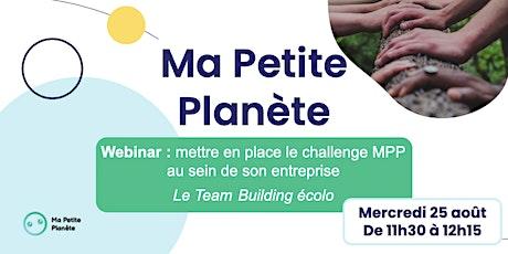 Webinar 15- Ma Petite Planète en Entreprise entradas
