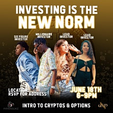 Investing Is The New Norm tickets