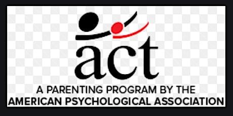ACT Raising Safe Kids Facilitator Training tickets