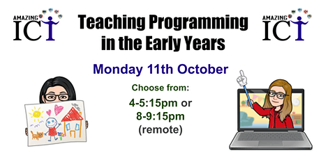 Teaching Programming in the Early Years tickets