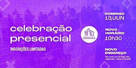 Celebração | Igreja Batista Urbana | 13/06 | 10h30 tickets