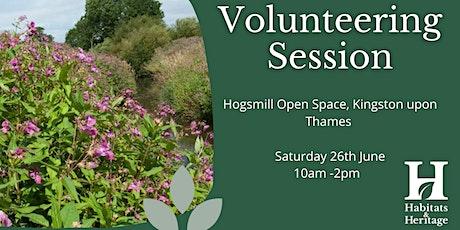 Saturday 26th June Volunteering session tickets