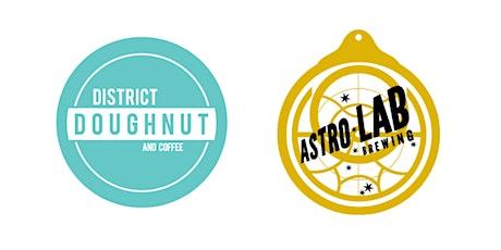 Virtual Doughnut & Beer Pairing: District Doughnut x Astrolab Brewing tickets