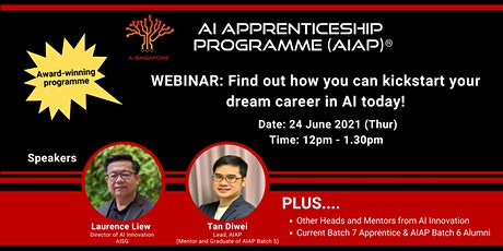 Webinar: Find out how you can kickstart your dream career in AI today! tickets
