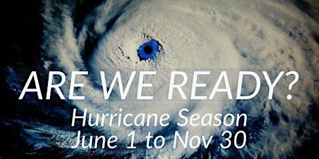 2021 Hurricane and Emergency Preparedness Briefing tickets
