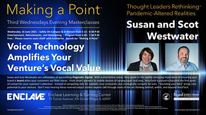 Making a Point™ Third Wednesdays Evening Thought Leaders Masterclass Series tickets