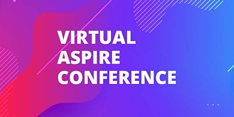Virtual Aspire Conference tickets