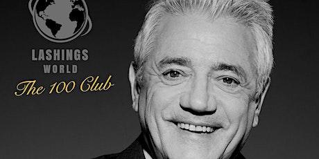 "Lashings World ""The 100 Club"" presents KEVIN KEEGAN (London Lunch) tickets"