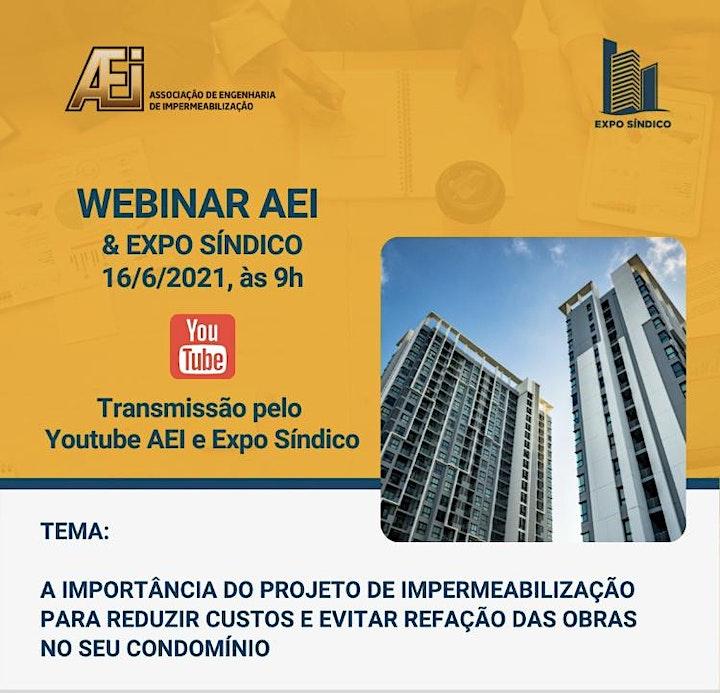 Imagem do evento Webinar Expo Síndico e AEI