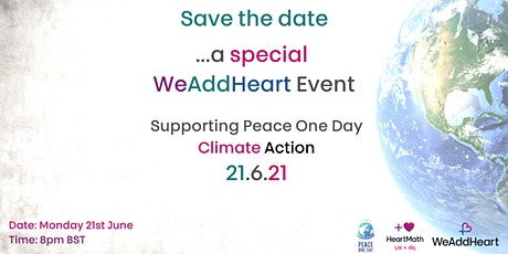 WeAddHeart Special Event for Climate Action tickets