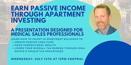 Earn Passive Income Through Apartment Investing tickets