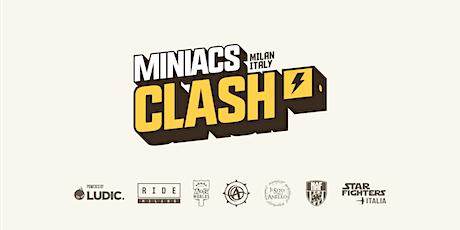 BLOODBOWL MINIACS CUP - TOURNAMENT - MINIACS CLASH 2021 biglietti