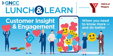 Lunch & Learn: Customer Insight and Engagement tickets