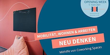 Opening Satellit NEUSTADT - Tag 2: Mobilität, Wohnen & Arbeiten neu denken billets