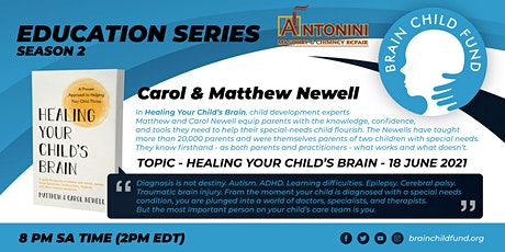 BCF Education Series - Healing your child's brain tickets