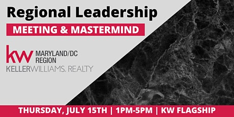 July MD/DC Regional Leadership Meeting tickets