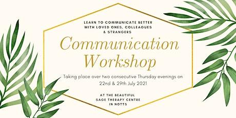 Communication Workshop tickets