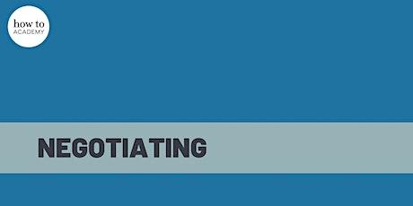 How To Negotiate – A Digital Masterclass   Gavin Presman tickets