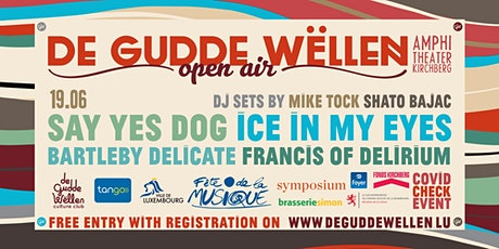 FDLM - SAY YES DOG / ICE IN MY EYES / BARTLEBY DELICATE / FRANCISOFDELIRIUM tickets