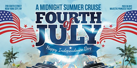 A MIDNIGHT SUMMER CRUISE : 4TH OF JULY CELEBRATION : JOHNNY 5CASH PARTIES tickets