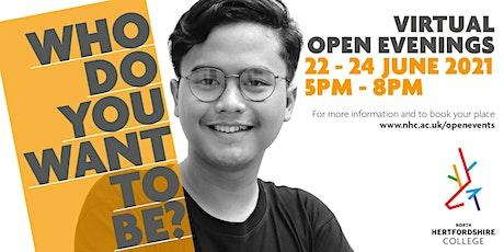 NHC Virtual Open Event - Apprenticeships tickets