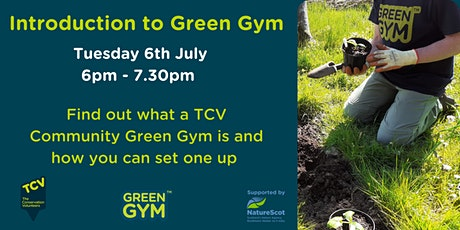 Introduction to TCV Community Green Gym tickets
