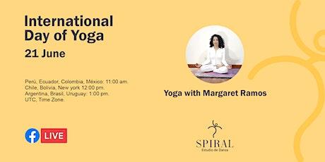 Día de Yoga 2021 - International Day of Yoga billets