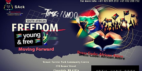 Young & Free South African Celebration tickets